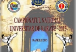 CAMPIONATUL NATIONAL UNIVERSITAR DE KARATE