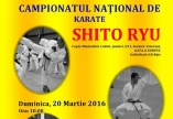 CAMPIONATUL NATIONAL DE KARATE SHITO RYU - COSR IZVORANI 20 martie 2016