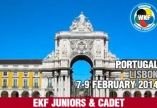 41st European Karate Portugal 2014 Lisbon Junior Cadet & 6 th U21