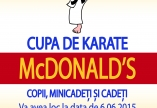 CUPA DE KARATE MC DONALDS