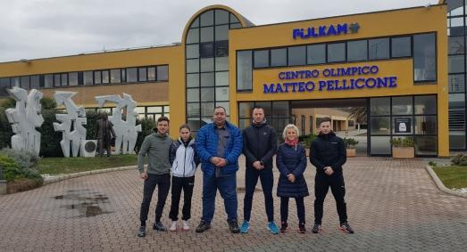 Cantonament Olimpic International de Karate - 17-22 ianuarie 2019 - Centrul Olimpic din Ostia, Roma